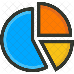 Chart Colored Outline Icon