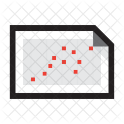 Chart Scatter Plot Icon