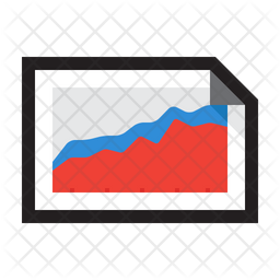 Chart Stacked Area Icon Of Colored Outline Style Available In Svg Png Eps Ai Icon Fonts