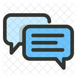 Chat Colored Outline Icon