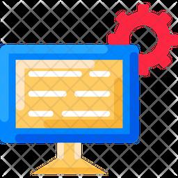 Chat Bot Flat Icon