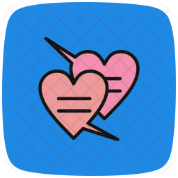 Chat, Love, Heart, Valentines Icon png