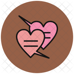 Chat, Love, Heart, Valentines, Romantic Icon png