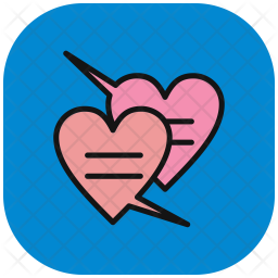 Chat, Love, Valentines, Heart, Valentine Icon png