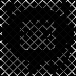 Chatbot Glyph Icon