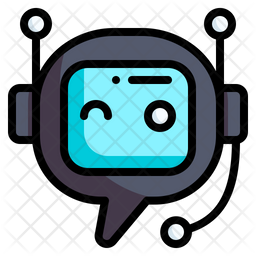 Chatbot Colored Outline Icon