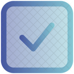 Check Gradient Icon