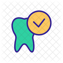 Check Tooth Icon