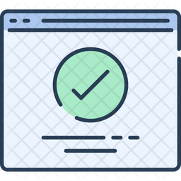 Checked Website Icon