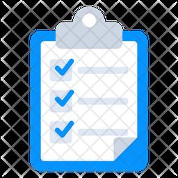 Checklist Flat Icon