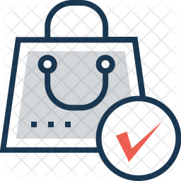 Checkout Colored Outline Icon