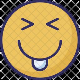 Cheeky Emoji Icon