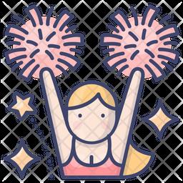 Cheerleader Icon