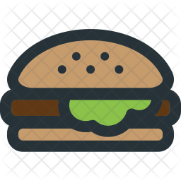 Cheese, Burger Icon