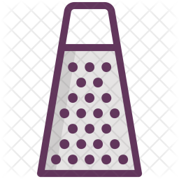 Cheese, Grater, Kitchen, Tool, Utensil, Cooking Icon