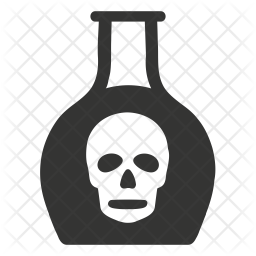 Chemical Glyph Icon