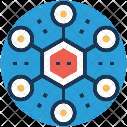 Chemical bond Icon
