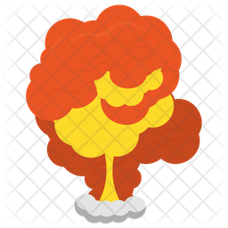 Chemical Explosion Icon