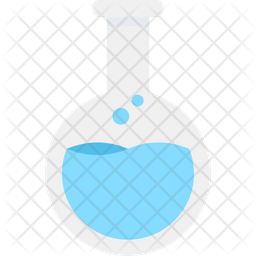 Chemical Flask Flat Icon