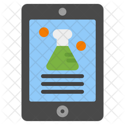 Chemical Learning Flat Icon