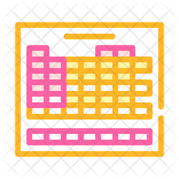Chemical Table Icon