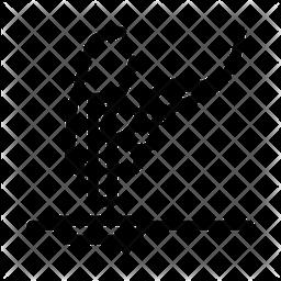 Chemical Tube Drain Icon