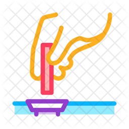 Chemical Tube Drain Icon