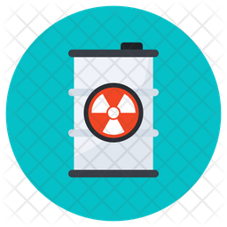 Chemical Waste Icon