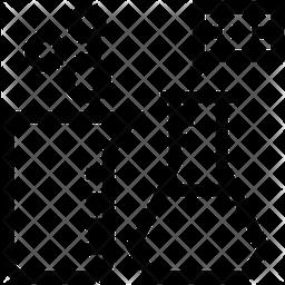 CHEMISTRY LABORATORY Line Icon