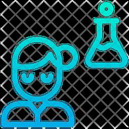 Chemistry Student Icon