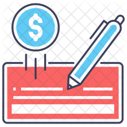 Cheque Payment Icon