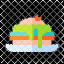 Cherry Pancakes Icon