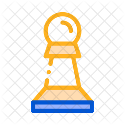 Chess Colored Outline Icon