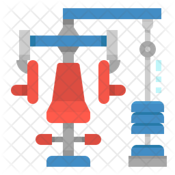 Chest Press Machine Icon