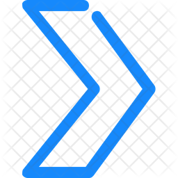 Chevron arrow Line Icon