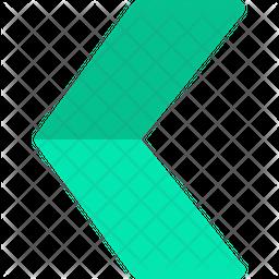Chevron arrow Flat Icon