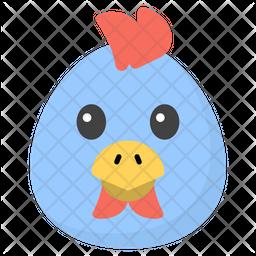 Chicken Emoji Icon