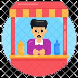 Child Shopkeeper Icon