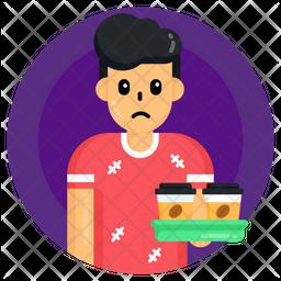 Child Waiter Icon