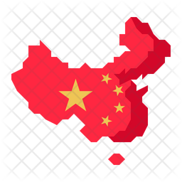 China Map Icon Of Flat Style Available In Svg Png Eps Ai Icon Fonts