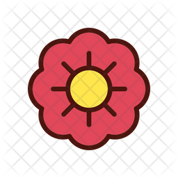Chinese flower Icon