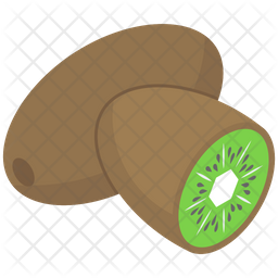 Chinese Gooseberry Vector Icon
