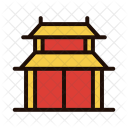 Chinese house Icon