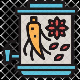 Chinese Medicine Mixture Icon