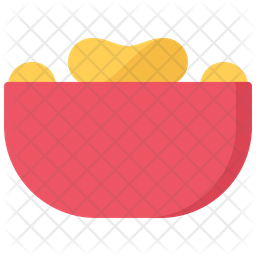 Chips bowl Icon