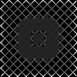 Chipset Glyph Icon