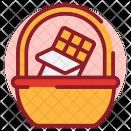 Chocolate Basket Icon
