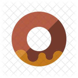 Chocolate Donut Icon