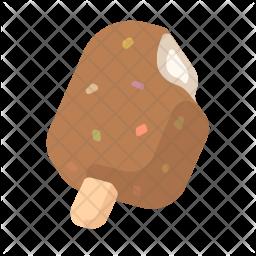 Chocolate ice cream Icon