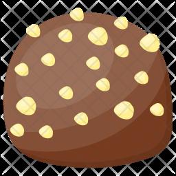 Chocolate Peanut Cookie Icon